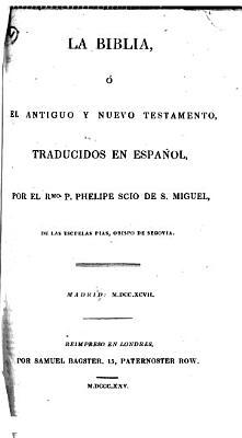 La Biblia  etc PDF