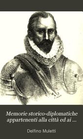 Memorie storico-diplomatiche appartenenti alla città ed ai marchesi di Saluzzo, pubbl. con addizioni e note da C. Muletti