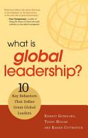 What Is Global Leadership  PDF