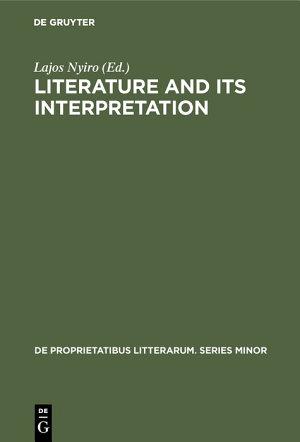 Literature and its interpretation