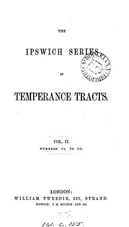 The Ipswich series of temperance tracts PDF