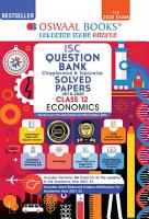 Oswaal ISC Question Bank Class 12 Economics Book Chapterwise   Topicwise  Reduced Syllabus   For 2022 Exam  PDF