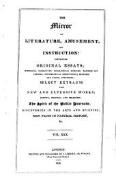 The Mirror of Literature, Amusement, and Instruction: Volume 30