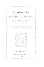 Thoughts for Heart and Life