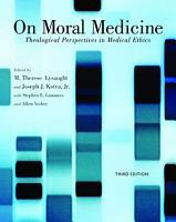On Moral Medicine PDF