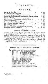 Annual Register: Volume 38