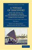 A Voyage of Discovery  Into the South Sea and Beering s Straits  for the Purpose of Exploring a North East Passage PDF