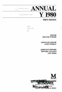 Annual Obituary 1980 PDF