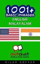 1001+ Basic Phrases English - Malayalam