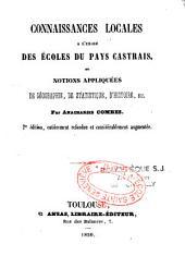 Connaissances locales à l'usage des écoles du pays Castrais