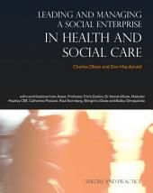 Leading and Managing a Social Enterprise in Health and Social Care