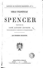 Obras filosóficas de Spencer