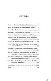 Facts and Documents illustrative of the history, doctrine and rites of the Ancient Albigenses et Waldenses