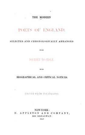 The Modern Poets of England PDF