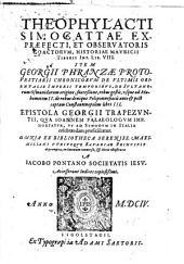 Historia Mauricii Tiberii Imp