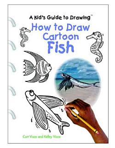 How to Draw Cartoon Fish Book