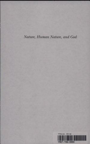 Nature  Human Nature  and God