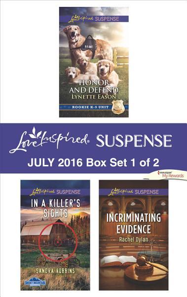 Download Harlequin Love Inspired Suspense July 2016   Box Set 1 of 2 Book