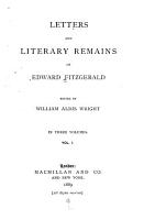 Letters and Literary Remains PDF