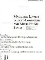 Problems of Post communism PDF