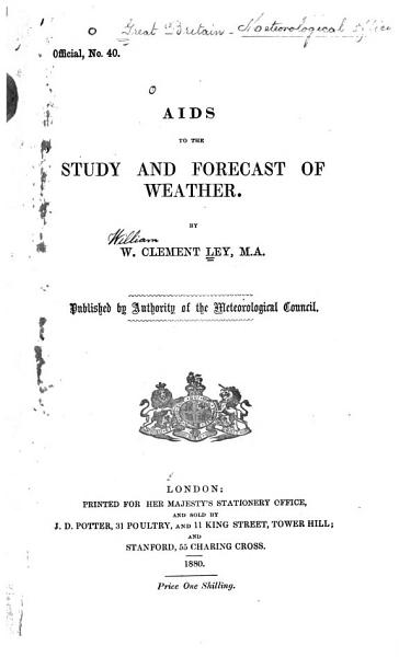 Aids to the Study and Forecast of Weather PDF