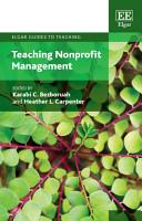 Teaching Nonprofit Management PDF