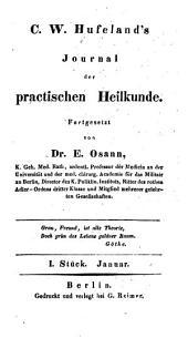 Hufeland's journal der practischen Heilkunde: Band 88