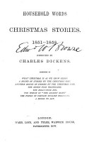Household Words Christmas Stories  1851 1858 PDF