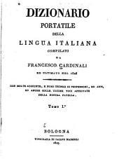 Dizionario portatile della lingua italiana: Volume 1