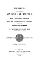 Discoveries Among the Ruins of Ninevah and Babylon PDF