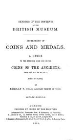 A Guide to the Principal Gold and Silver Coins of the Ancients: From Circ. B. C. 70 to A, Part 1