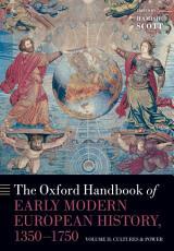 The Oxford Handbook of Early Modern European History  1350 1750 PDF