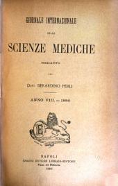 Giornale internazionale delle scienze mediche: Volume 8
