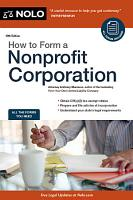 How to Form a Nonprofit Corporation PDF