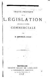 Traité de droit commercial