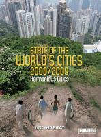 State of the World s Cities 2008 9 PDF