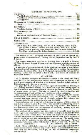 The Reformed Presbyterian and Covenanter PDF