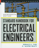 Standard Handbook for Electrical Engineers PDF