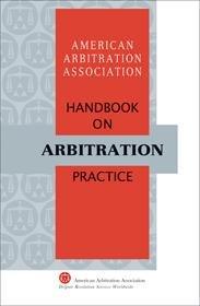AAA Handbook on Arbitration Practice PDF