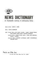 News Dictionary PDF
