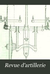 Revue d'artillerie: Volume30