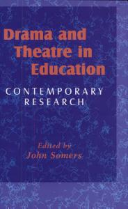 Drama and Theatre in Education Book