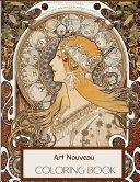 Art Nouveau Coloring Book PDF
