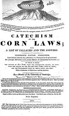 Catechism on the Corn Laws