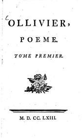 Ollivier: Poeme, Volume1