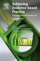 Achieving Evidence Based Practice PDF