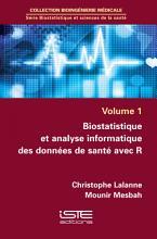 Biostatistique et analyse informatique des donn  es de sant   avec R PDF