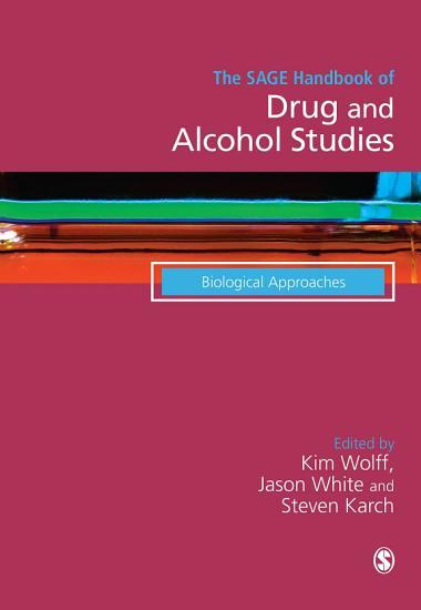 The SAGE Handbook of Drug   Alcohol Studies PDF