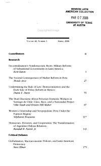 Latin American politics and society PDF