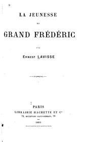 La jeunesse du grand Frédéric